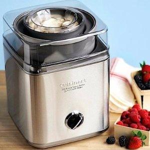 Expired 5499 8995 39 Off Cuisinart ICE 30BC Pure Indulgence 2 Quart Automatic Frozen Yogurt Sorbet And Ice Cream Maker