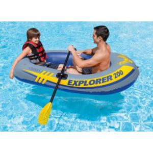 清仓价$10(原价$19.97)Intex Explorer 200 双人充气橡皮艇
