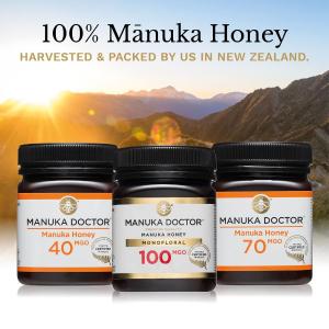 500g天然蜂蜜仅€10 白菜价售完即止!Manuka Doctor 蜂蜜精选 健康美容 提高免疫力 保养胃环境