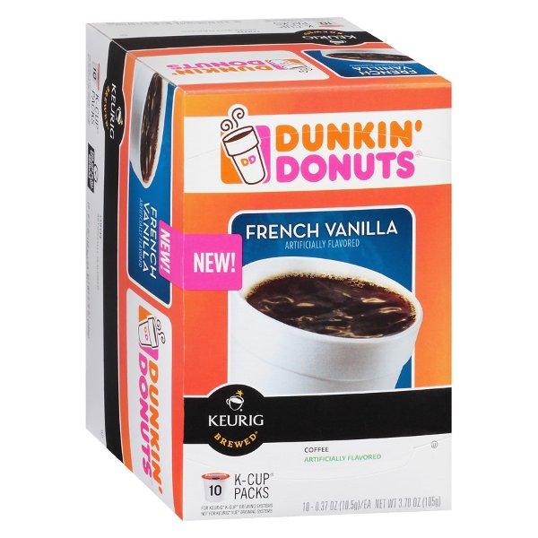 K-Cups 法式香草咖啡胶囊 10个