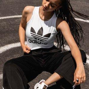 Adidas三叶草背心