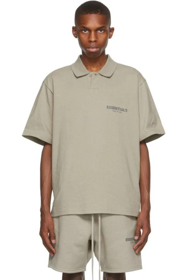 Khaki Polo 衫