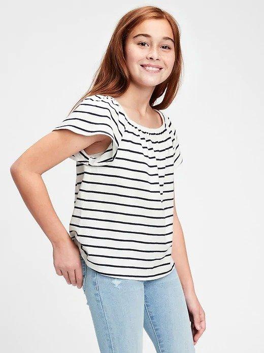 女童、大童短袖T恤