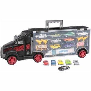 $17.46 (原价$38.68)Kid Connection™汽车模型玩具22件套