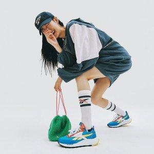 低至5折+满额额外8折最后一天:Reebok 潮流鞋服折上折 $44收封面同款拼色运动鞋