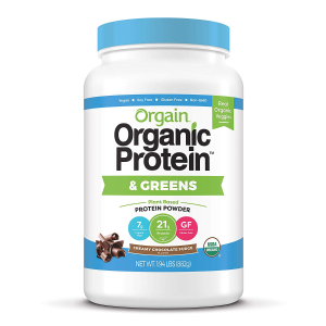 1.94 Lb for $17.54Orgain Organic Plant Based Protein & Greens Powder, Creamy Chocolate Fudge