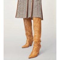 Tory Burch 木质纹路长靴