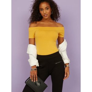 Extra 10% Off $125Norah Off-the-Shoulder Top at Guess