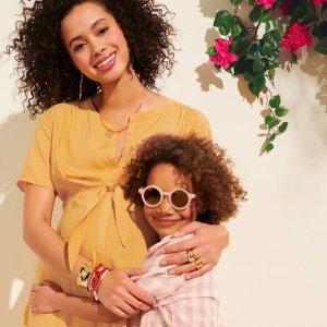 全场5折 $18收哺乳内衣上新:ThymeMaternity 时尚孕妇装 舒适内衣清仓大促