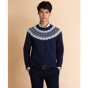 混羊毛毛衣