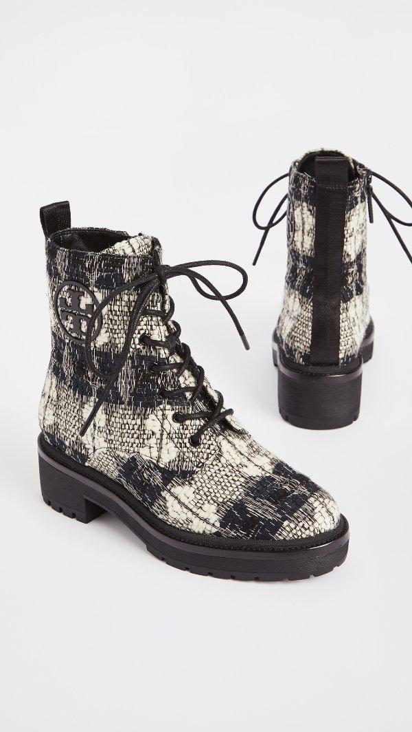 Miller 50mm格纹马丁靴