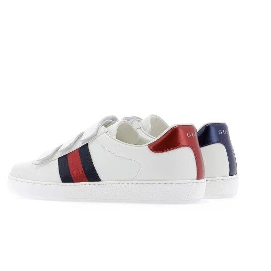 Men's New Ace Strap 双色尾小白鞋