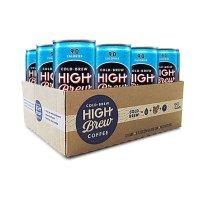 High Brew 冷萃咖啡 墨西哥香草味 12罐装