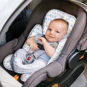 $5.99 (原价$19.99)史低价:Summer Infant 可调节婴儿支撑保护垫,纱布巾材质