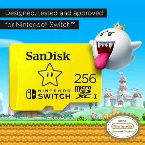 128GB microSDXC 卡 $14.99SanDisk 系列 存储设备 好价促销