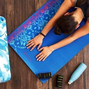 8折优惠,$15起Gaiam 专业瑜伽垫热卖 夏日减肥动起来!