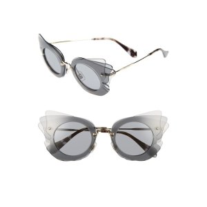 4810d95c8c24 Miu MiuLayered Butterfly 63mm Acetate Frame Sunglasses