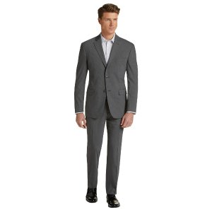 1905 Collection Tailored Fit Pinstripe Suit CLEARANCE - All Clearance | Jos A Bank