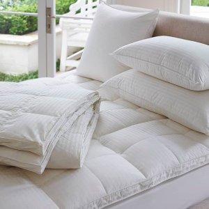 5折 $74收四季被限今天:Heritage 精选被子、枕头等床品热卖