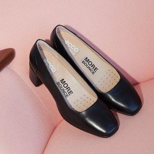 低至4.5折+免邮ECCO 折扣区美鞋热卖 芭蕾平底鞋$79,收封面新款中跟鞋