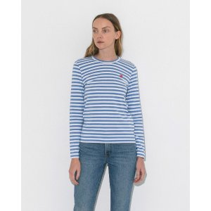 483af83b9aaa ... Play Emblem V-Neck Cardigan. Comme des Garcons PlayPlay Striped Long  Sleeve Tee