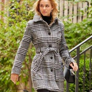额外7折 $52收羽绒服macys.com 精选女款平价秋冬大衣热卖 Lauren Ralph Lauren, Tommy Hilfiger都参加