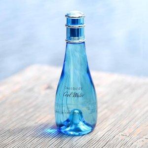 $12.34(原价$28) 水一样的香水Davidoff 冷水女士香氛3.4oz 5.3折热卖