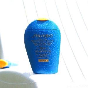 秒杀价¥204 + 3件免邮中国补货:SHISEIDO 蓝胖子防晒 SPF50 100ml,遇水更强,夏日必备