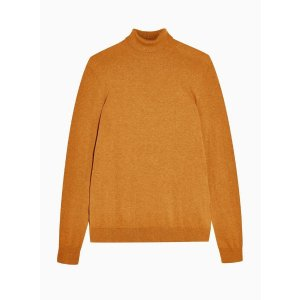 TopmanToffee Marl Roll Neck Sweater
