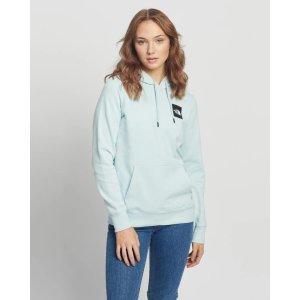 The North FaceBox Pullover婴儿蓝帽衫