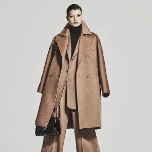 李小冉相似款系带大衣€975+直邮中国11.11独家:Max Mara 女装7.5折热卖,此生必get一件的大衣