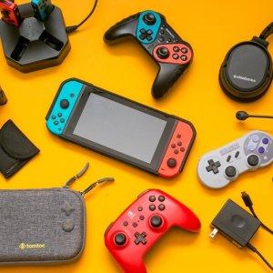 5折起 收限定新款主机Nintendo Switch专区 《怪物猎人:崛起》$64、舞力全开$48
