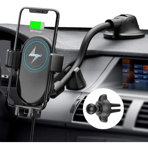Mpow Qi 10W 车载无线充电器