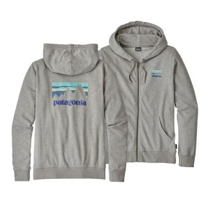 Patagonia Women's Shop Sticker Lightweight Full-Zip Hoody