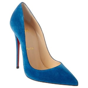 52abc5ff6bd Christian Louboutin Pigalle Follies 100 Glitter Leather Pump · Christian  LouboutinSo Kate 120 Suede Pump