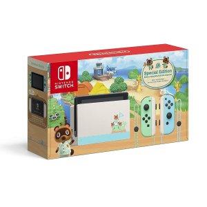 $379.96 入动森限量款Nintendo Switch 续航增强版主机 价格全线下调 $20