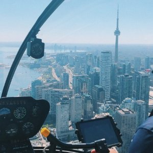5.3折 仅$180 送7寸纪念照Toronto Heli Tours 多伦多直升机游 见所未见的新奇体验