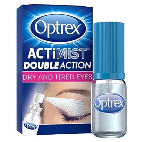 戴隐形眼镜的小伙伴必备 £11起闪购:Optrex 2合1眼部喷雾闪购英国国民畅销款眼药水