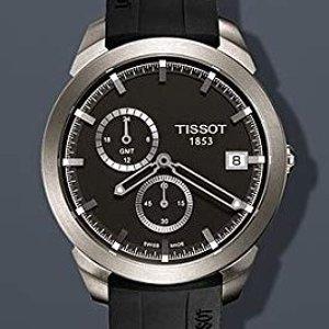 额外$40 $185+无税包邮史低价:TISSOT 超轻钛合金时装男表