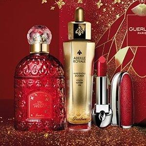 $20起上新:Guerlain 新年限定美妆护肤品