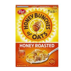Post 蜂蜜烤麦片 营养早餐健康零食好价促销