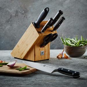 低至4折 半价收封面同款刀组Zwilling 双立人刀具、炖锅厨房用品一应俱全 德国主妇的骄傲