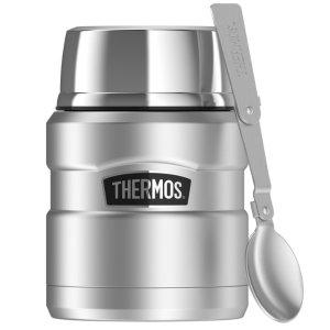 $15.99史低价:Thermos 膳魔师 不锈钢焖烧杯 带不锈钢折叠勺 16oz
