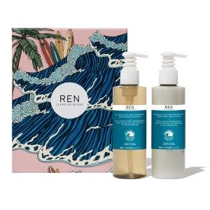 Ren Clean Skincare大西洋海藻系列手部洗护套装