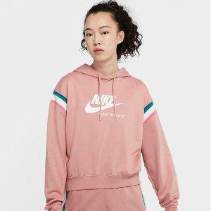 折扣区5折起 卫衣低至£28起上新:Nike 卫衣连帽衫专场大促 春夏衣橱必备百搭又时尚