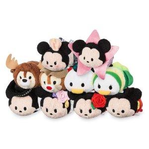 封面Tsum Tsum打折+优惠 约$2.63/个迪士尼官网 全场买一件第二件半价 有玩偶、服饰、家居用品等