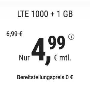 月租€4.99 减免€19.99接通费明早截止!学生党首选!包月电话/短信+2GB上网+欧盟漫游