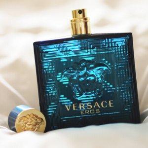 $49Versace Eros Men Eau De Toilette Spray, 6.7 Fluid Ounce