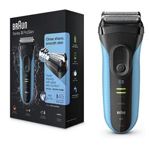 5折€59.93收 随时失效Braun 3系电动剃须刀 全身水洗 3层刀片 减少皮肤刺激