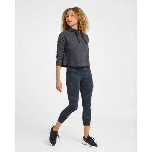 Spanx七分瑜伽裤